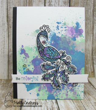 Beautiful Plumage Stamp Set ©2017 Newton's Nook Designs