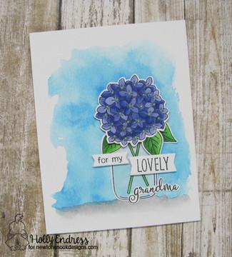 Lovely Blooms  Stamp Set ©2017 Newton's Nook Designs
