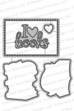 Newton's Book Club Die Set ©2017 Newton's Nook Designs