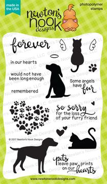 Furr-ever Friends Stamp Set ©2017 Newton's Nook Designs