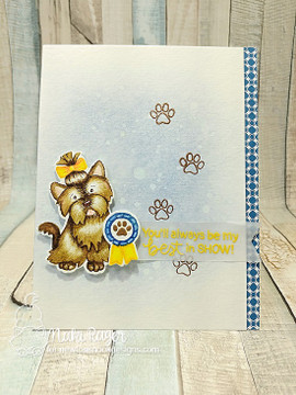 Terrific Terriers Stamp Set ©2017 Newton's Nook Designs