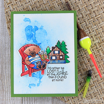 Winston's Lake House Stamp Set ©2017 Newton's Nook Designs