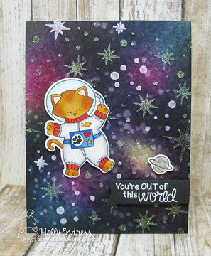 Cosmic Newton Stamp Set ©2017 Newton's Nook Designs