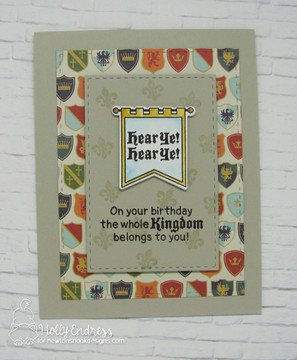Knight's Quest Stamp Set ©2017 Newton's Nook Designs