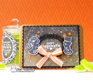 Creepy Cameos Stamp Set ©2017 Newton's Nook Designs