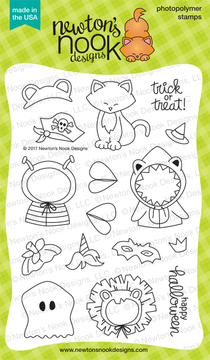Newton's Costume Party Stamp Set ©2017 Newton's Nook Designs