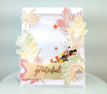 Shades of Autumn Stamp Set ©2017 Newton's Nook Designs