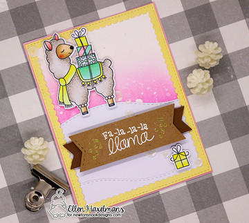 Llama Delivery Stamp Set ©2017 Newton's Nook Designs