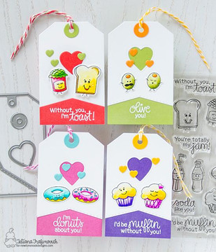 Fancy Edges Tag Die Set ©2017 Newton's Nook Designs