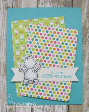 Bitty Bunnies Stamp Set ©2018 Newton's Nook Designs
