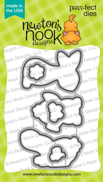 Bitty Bunnies Die Set ©2018 Newton's Nook Designs