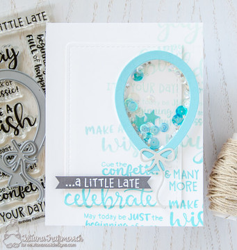 Birthday Essentials Stamp Set ©2018 Newton's Nook Designs