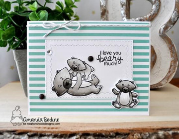 Papa Bear Stamp Set ©2018 Newton's Nook Designs