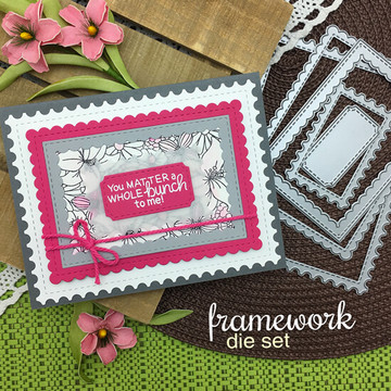 Framework Die Set ©2018 Newton's Nook Designs