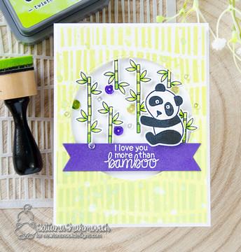 Playful Pandas Stamp Set ©2018 Newton's Nook Designs