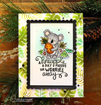 Pina Koala Stamp Set ©2018 Newton's Nook Designs