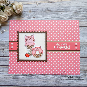 Cat Treats Stamp Set ©2018 Newton's Nook Designs