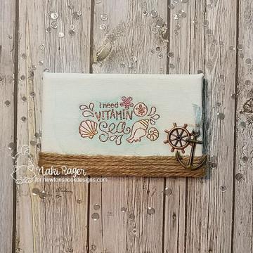 Vitamin Sea Stamp Set ©2018 Newton's Nook Designs