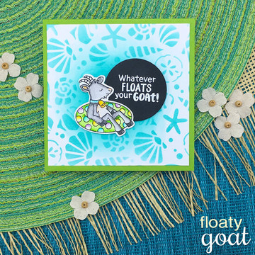 Floaty Goat Die Set ©2018 Newton's Nook Designs