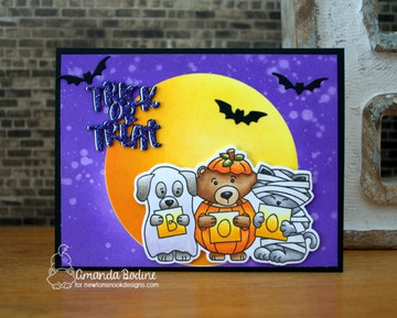 Halloween Trio Stamp Set ©2018 Newton's Nook Designs