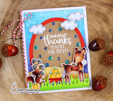 Harvest Tails Stamp Set ©2018 Newton's Nook Designs