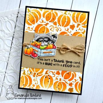 Harvest Tails Stamp Set ©2018 Newton's Nook Designs