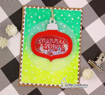 Ornamental Wishes Stamp Set ©2018 Newton's Nook Designs
