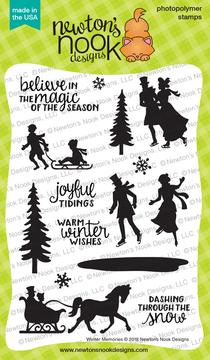 Winter Memories Stamp Set ©2018 Newton's Nook Designs