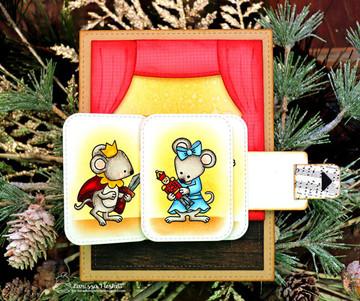 The Nutcracker Squeak Stamp Set ©2018 Newton's Nook Designs