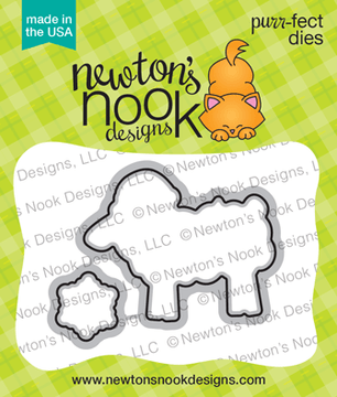 Fleece Navidad Die Set ©2018 Newton's Nook Designs