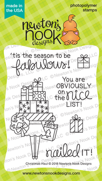 Christmas Haul Stamp Set ©2018 Newton's Nook Designs