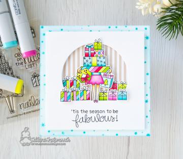 Christmas Haul Stamp Set ©2018 Newton's Nook Designs