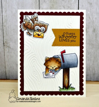 Love Owl-ways Stamp Set ©2019 Newton's Nook Designs