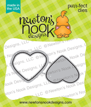 Candy Heart Die Set ©2019 Newton's Nook Designs