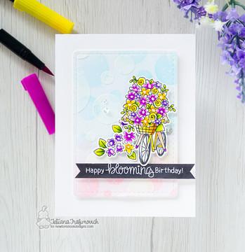 Loads of Blooms Stamp Set ©2019 Newton's Nook Designs