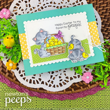 Newton's Peeps Stamp Set ©2019 Newton's Nook Designs