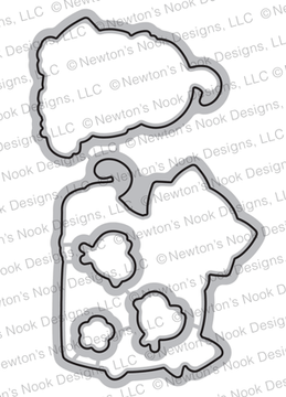 Newton's Peeps Die Set ©2019 Newton's Nook Designs