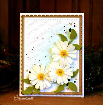 Flower Trio Die Set ©2019 Newton's Nook Designs