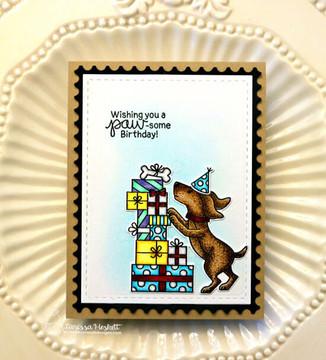 Paw-some Birthday Stamp Set ©2019 Newton's Nook Designs