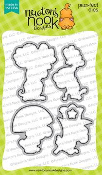 Garden Mice Die Set ©2019 Newton's Nook Designs
