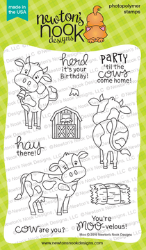 Moo Stamp Set ©2019 Newton's Nook Designs