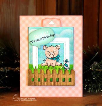 Oink Stamp Set ©2019 Newton's Nook Designs