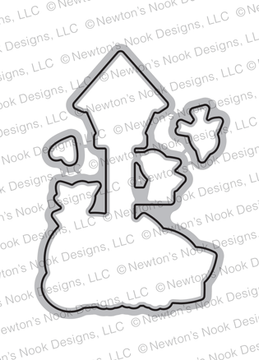 Newton's Birdhouse Die Set ©2019 Newton's Nook Designs