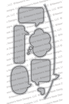 Speech Bubble Die Set ©2019 Newton's Nook Designs