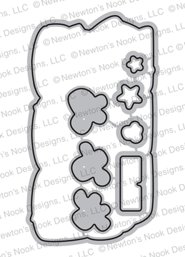 Newton's Movie Night Die Set ©2019 Newton's Nook Designs
