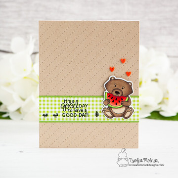 Woodland Picnic Stamp Set ©2019 Newton's Nook Designs