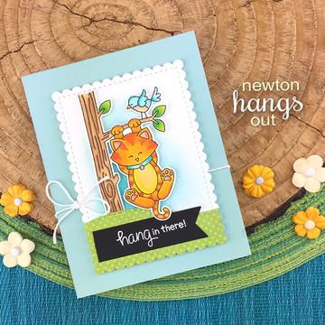 Newton Hangs Out Stamp Set ©2019 Newton's Nook Designs