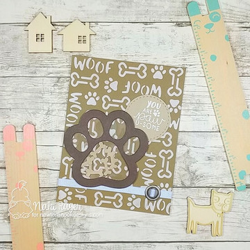 Say Woof Stamp Set ©2019 Newton's Nook Designs