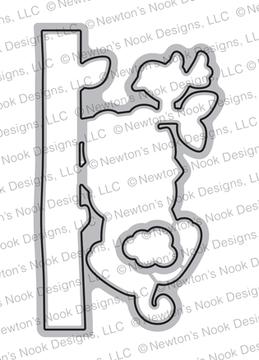 Newton Hangs Out Die Set ©2019 Newton's Nook Designs