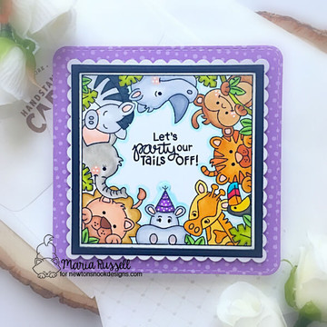 Zoo Party Stamp Set ©2019 Newton's Nook Designs